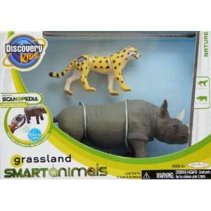 Kids Scanopedia Grassland Smart Animals Zebra & Giraffe Toys & Games