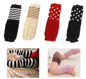 Cute Baby Toddler Arm Leg Warmers Leggings Socks #02