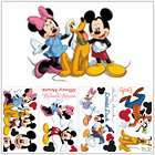 32 Mickey Mouse & Friends Wall Decals Minnie Pluto Donald Daisy Duck