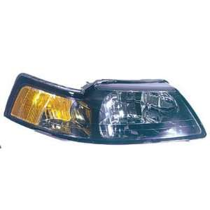 MUSTANG HEADLIGHT ASSEMBLY, PASSENGER SIDE   DOT Certified Automotive