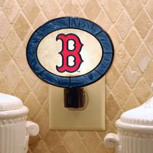 Boston Red Sox Baseball Stained Glass Night Lights