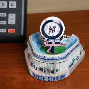 New York Yankees Painted Stadium Clock