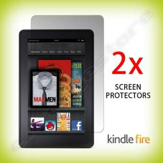 2x  Kindle FIRE Anti Glare & Anti Fingerprint Screen Protectors