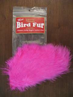 Fly Tying Whiting Farms Spey Mini Bird Fur Pink