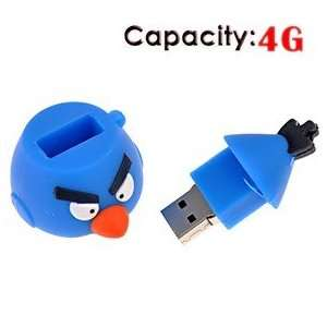 4G Rubber USB Flash Drive with Shape of Bird Electronics