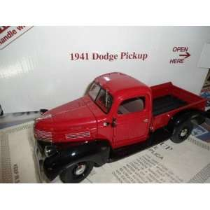 1941 Dodge Pick up Danbury Mint Die Cast 124