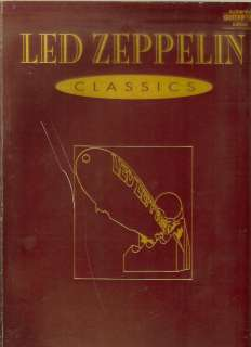 LED ZEPPELIN CLASSICS MUSIC BOOK