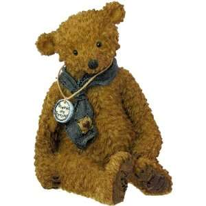 Boyds Bears Tattered Treasures Resin Teddy Bear Figurine