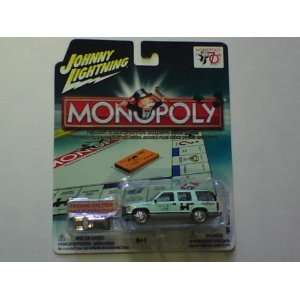 MONOPOLY JOHNNY LIGHTNING 97 CHEVY TAHOE