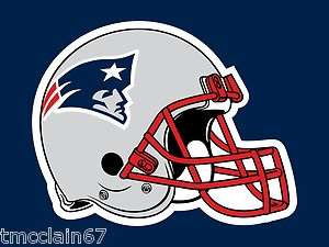 New England Patriots edible cake image topper 1/4 sheet