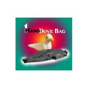 Dove Bag   Black, 1 Hand   Animal / Stage Magic Tr Toys