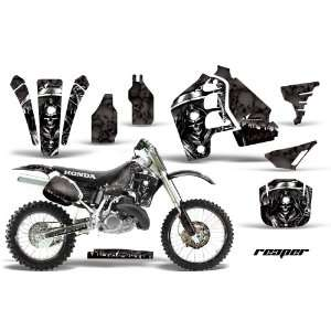 AMR Racing Honda Cr500 Mx Dirt Bike Graphic Kit   1989 2001 Reaper
