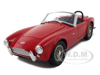1962 SHELBY COBRA CSX2000 RED 124 DIECAST MODEL CAR