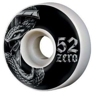 Zero Motorbreath Snake Skateboard Wheels   52mm (set of 4