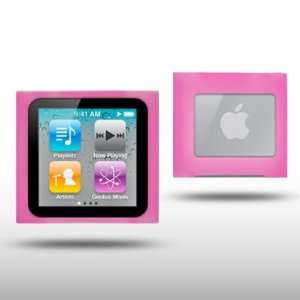 IPOD NANO 6TH GEN HOT PINK SILICONE SKIN CASE BY CELLAPOD