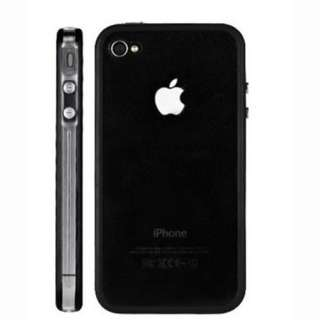 Clear Bumper Frame TPU Silicone Case Cover W/Side Button for iPhone