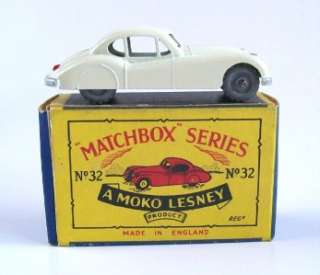 MATCHBOX MOKO LESNEY 32 JAGUAR XK 140, 1957, MIB
