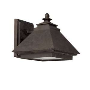 Light Wall Lantern Dark Sky Rustic Iron