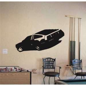 MURAL Vinyl Sticker Car DE LOREAN FUTURE SPORT 005
