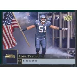 Lofa Tatupu   Seahawks   2009 Upper Deck NFL Football Trading Card in