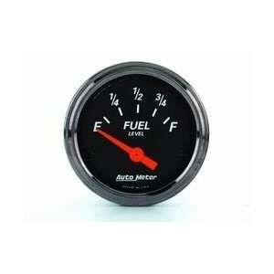 Auto Meter 1415 DESIGNER BLACK FUEL LEVE Automotive