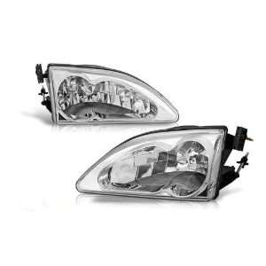 Ford Mustang Cobra Head Light   Chrome/Clear Performance