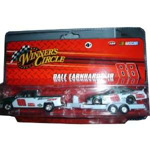 Dale Earnhardt Jr. #88 1/64 Amp Car w/ Truck and Trailer Toys & Games