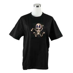 Cool Skull Dancer Sound Activated Light Up and Down Size L LED EL T