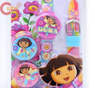 Nick Dora Pink Kids Wrist Watch 2