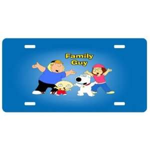 Family Guy Kids License Plate Sign 6 x 12 New Quality Aluminum