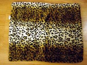 Leopard Heat Reflecting Pad DOG PET BED Small 18x23 New