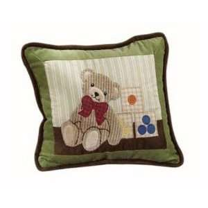 Teddy Bear Story   Decorative Pillow Baby