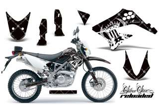 BIKE MOTORCROSS DECAL WRAP KAWASAKI D TRACKER KLX 125 10 12 RWK