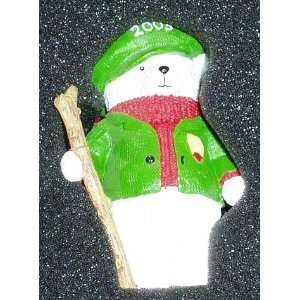 2003 with Walking Cane Decorative Collectible Ornament