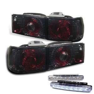 Eautolights 92 93 Honda Accord 4 Door Tail Lights + LED