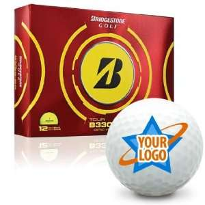 Bridgestone Tour B330 RX Yellow Logo Golf Balls Sports