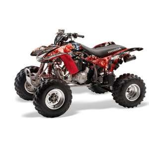 AMR Racing Honda TRX 400EX 1999 2007 ATV Quad Graphc Kit   Mad Hatter