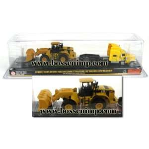 Trail King & Caterpillar 950G Wheel Loader 187 Scale Toys & Games