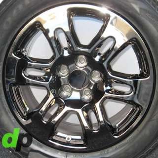 Factory/OEM EcoDriven PVD Black Chrome Wheels/Rims/Tires/TPMS