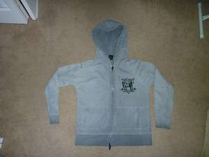 NICE MENS KINGS OF GLORY HOODIE SWEATER SIZE X LARGE COLOR GRAY