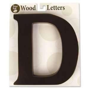 Nursery Baby Decorative Wooden Letter D Baby