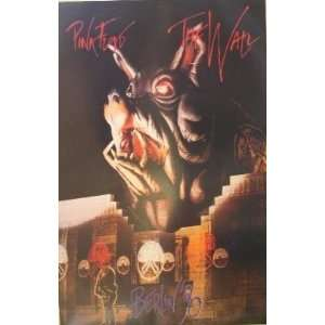 Pink Floyd   The Wall Music Poster