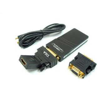 USB To HDMI DVI VGA Multi Display Adapter Converter US