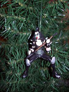 Custom Kiss Band Christmas Ornament Set