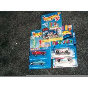 Hot Wheels Special edition lot of 5 cars Otter Pops 49 mercury coupe