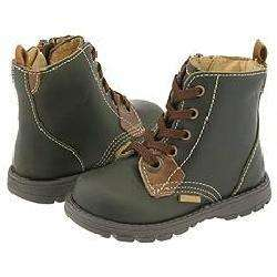 Primigi Kids Darmon (Infant/Toddler) Olive Leather Boots