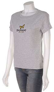 Browning Womens Ribbed Cotton Tee