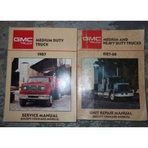 1987 GMC Medium & Heavy Duty Truck Service Manual Set