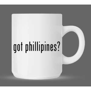 got phillipines?   Funny Humor Ceramic 11oz Coffee Mug Cup