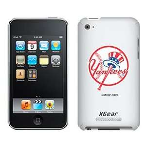 New York Yankees Yankees on iPod Touch 4G XGear Shell Case